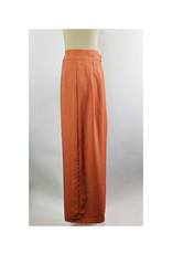 THML Rust High Waist Belted Pants