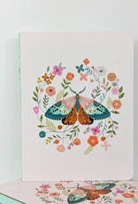 Studio Oh! Floral Moth Coptic Journal