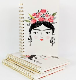 Studio Oh! Woman w/ Flower Crown Notebook