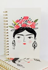 Studio Oh! Woman w/ Flower Crown Notebook