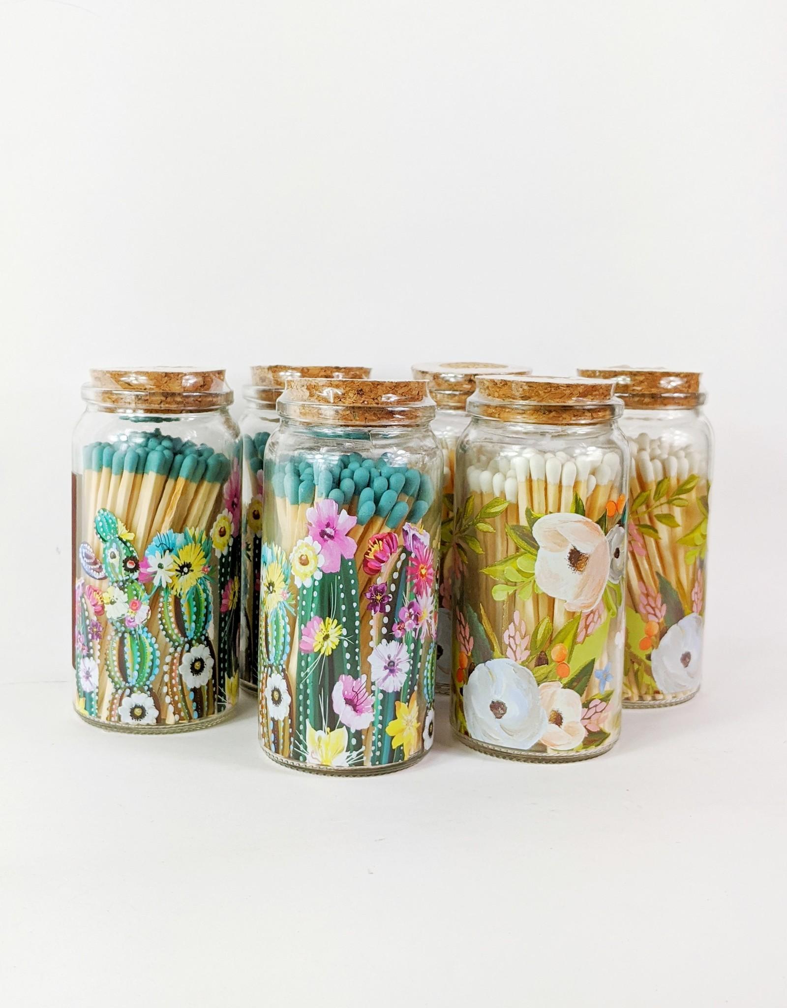 Studio Oh! Bella Flora Matches in Jar