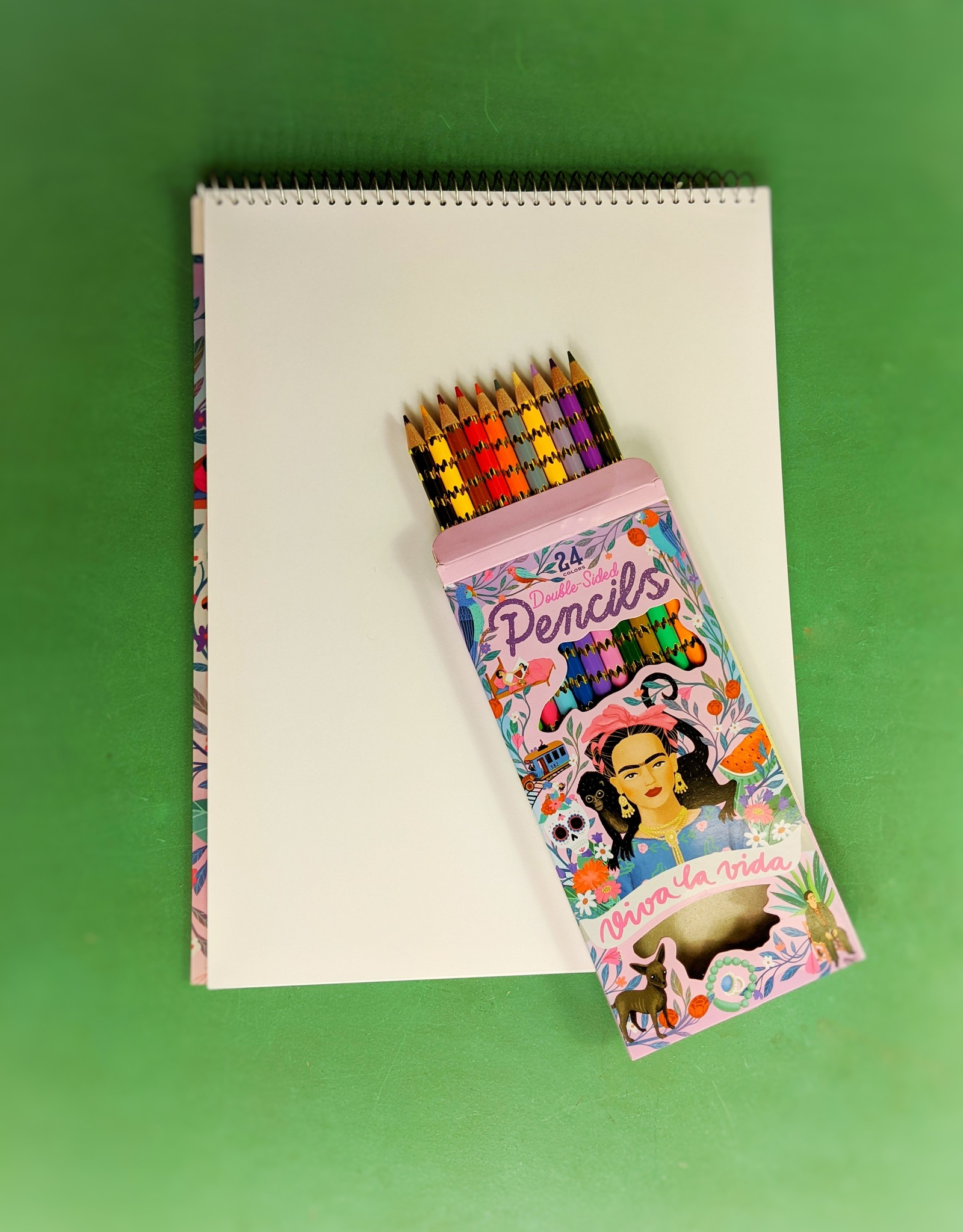 Eeboo Viva la Vida Double Sided Pencils