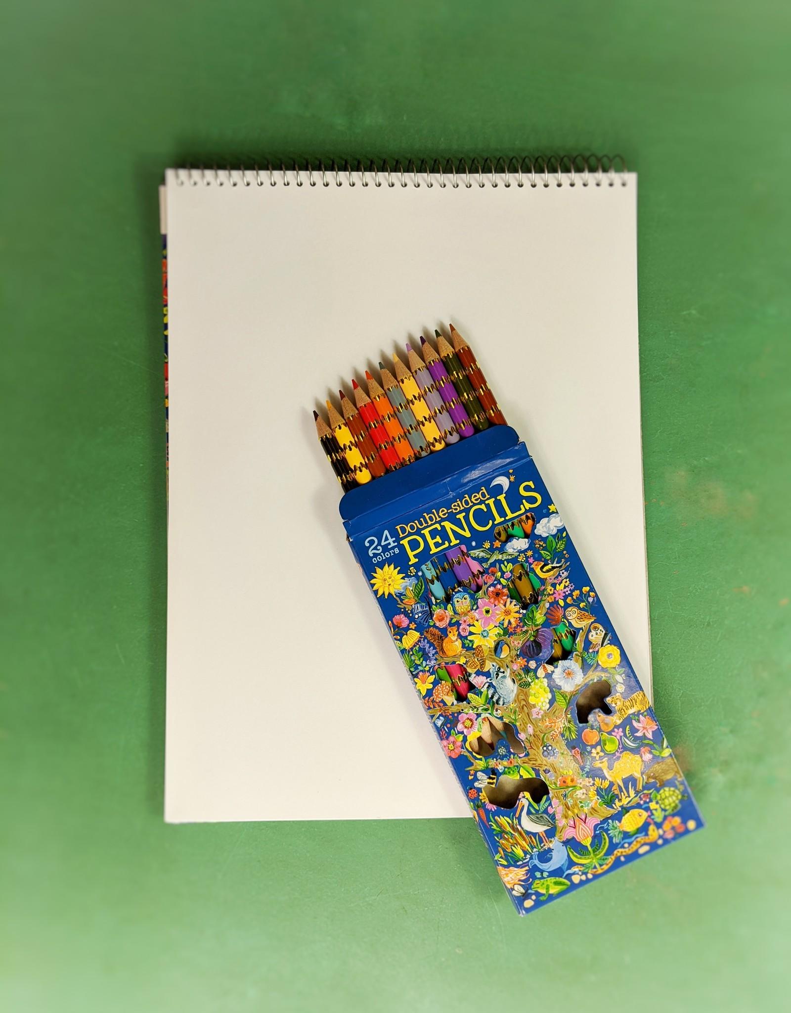 Eeboo Tree of Life Double Sided Pencils