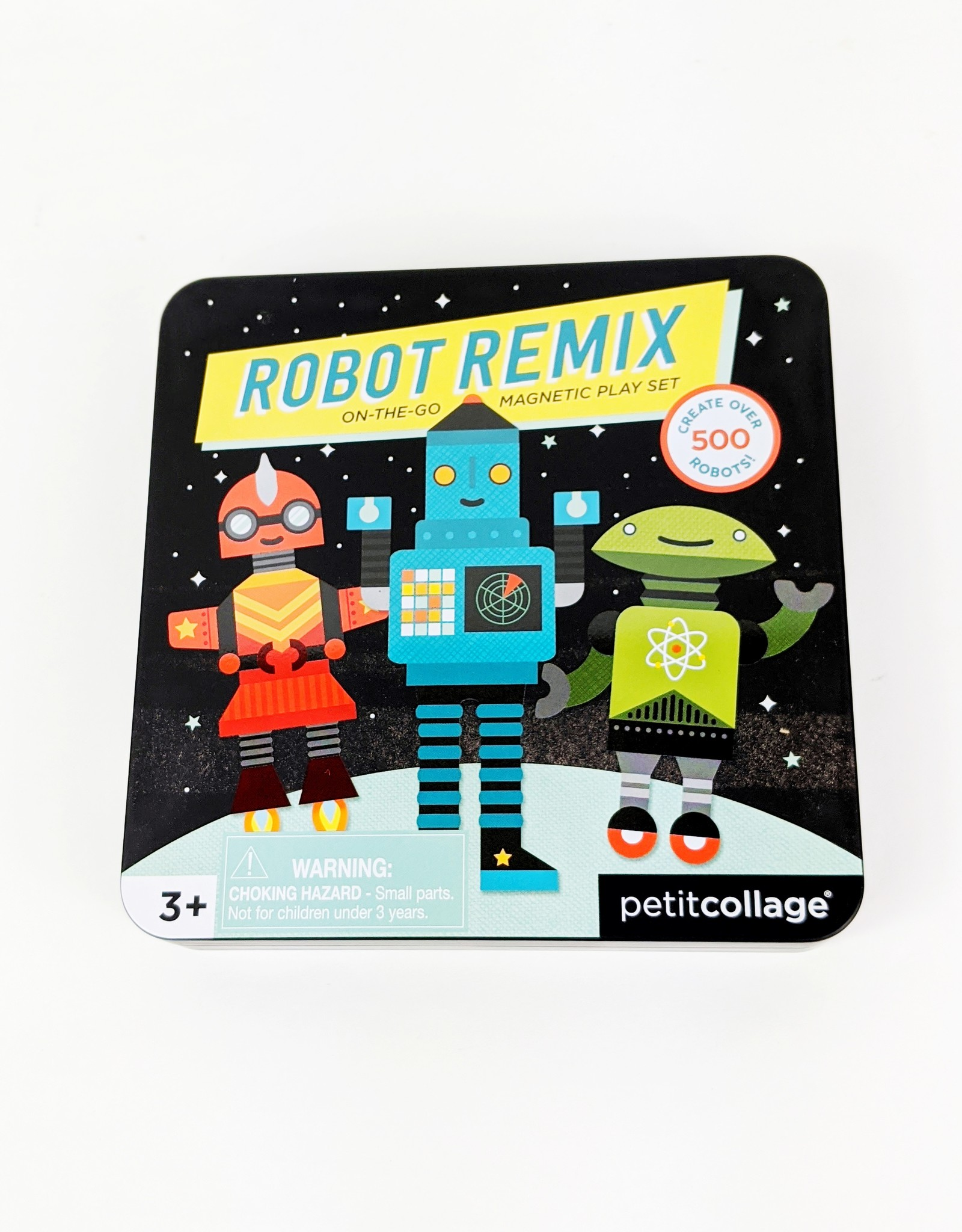 Petite Collage Robot Remix Magnetic Play Set
