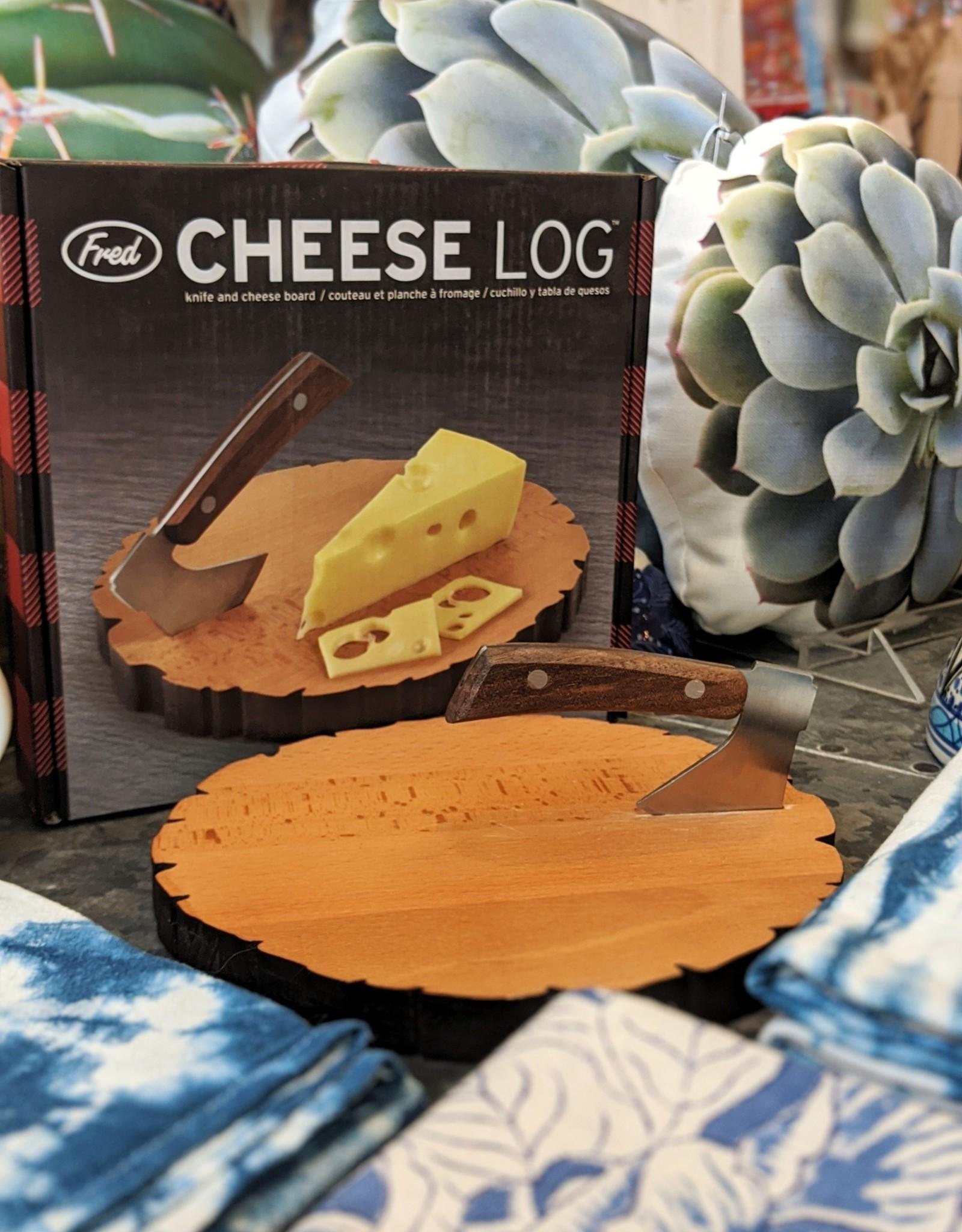 Fred Cheese Log Set
