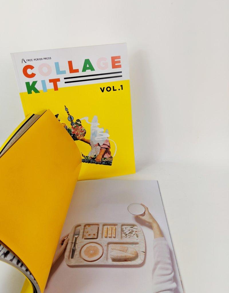 Free Period Press Collage Kit Magazine