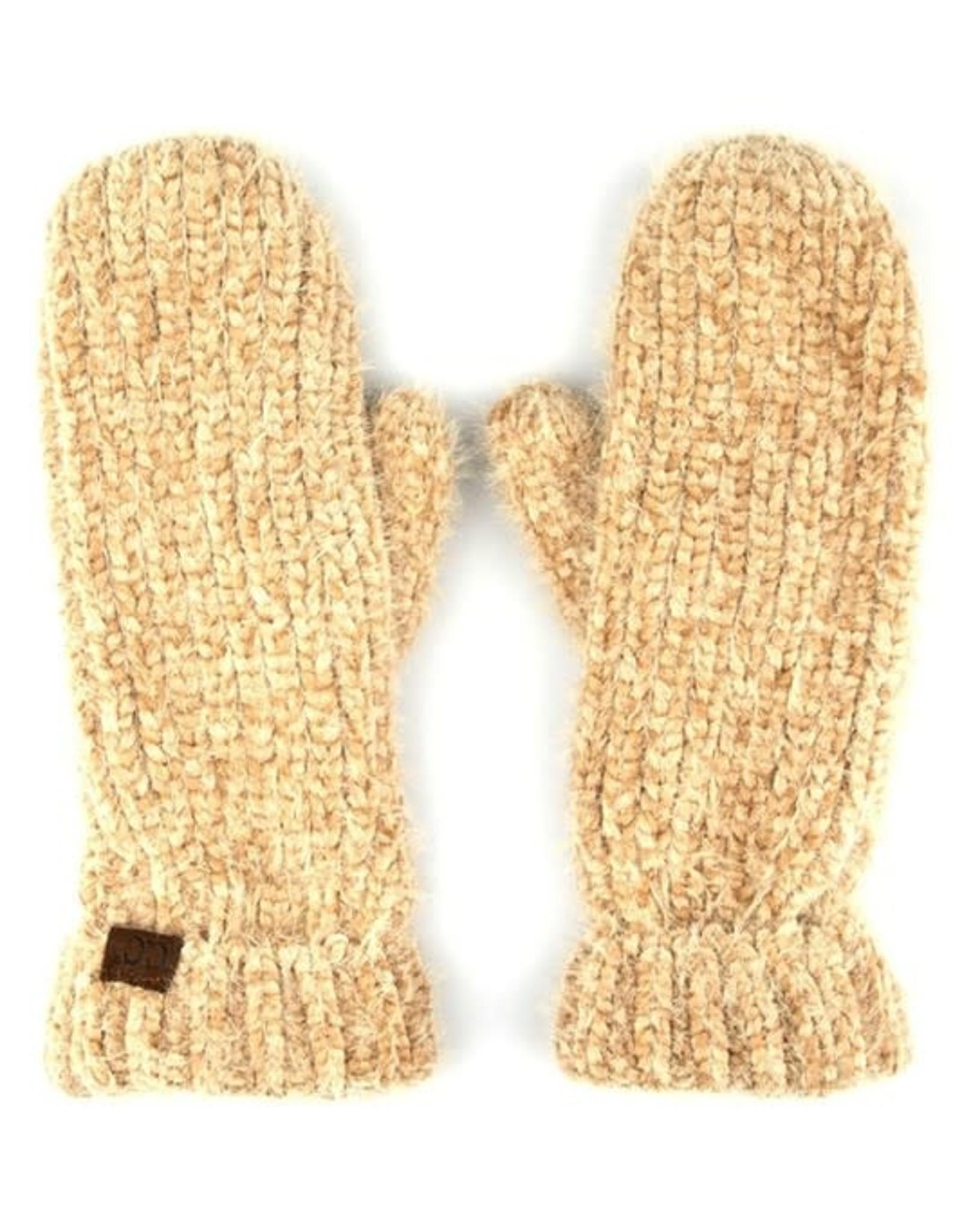 Hana Chenille Gloves w/Fuzzy Lining