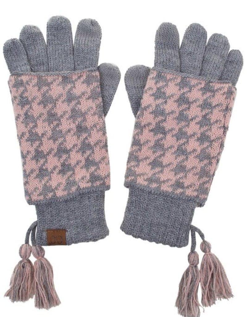 Hana Knit Double Gloves