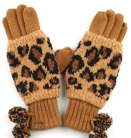 Hana Knit Double Gloves