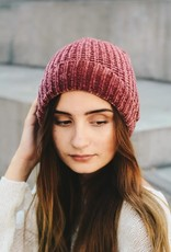 Leto Accessories Slouchy Chenille Beanie