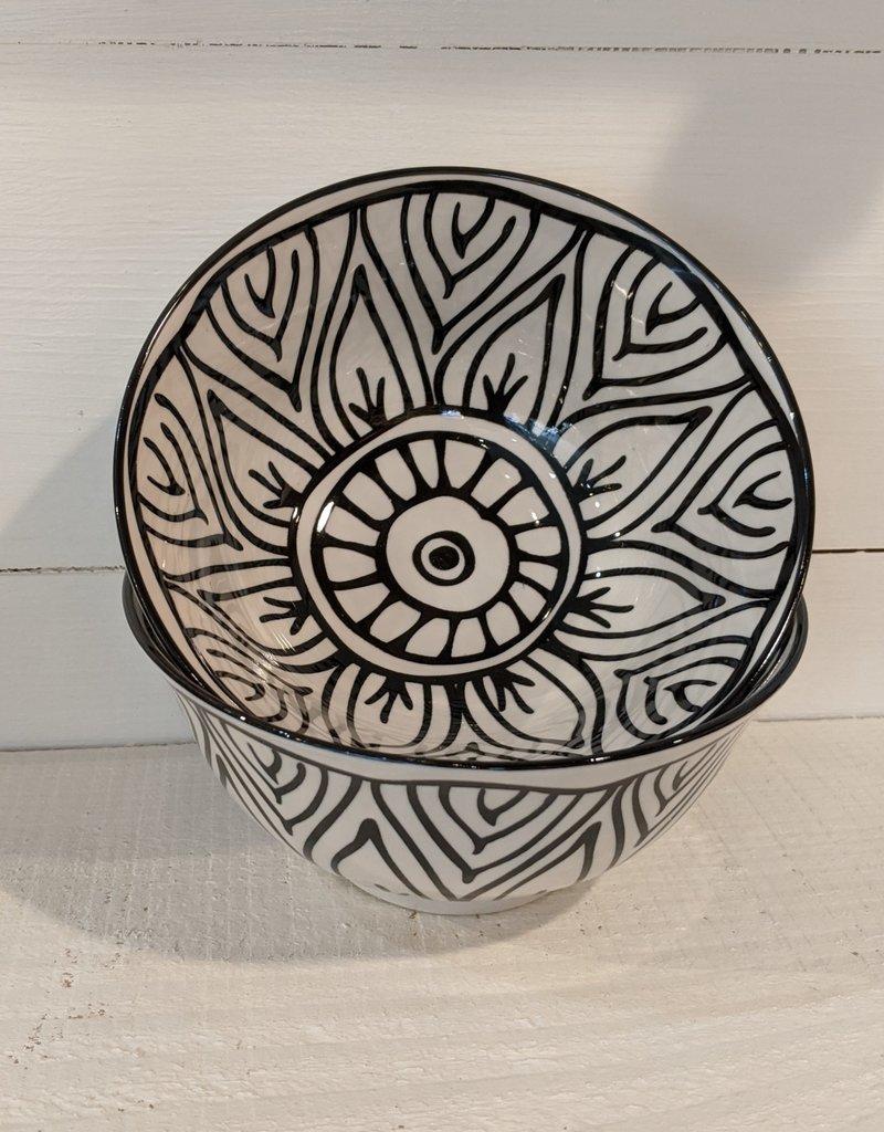 Now Designs Black Bloom Bowl