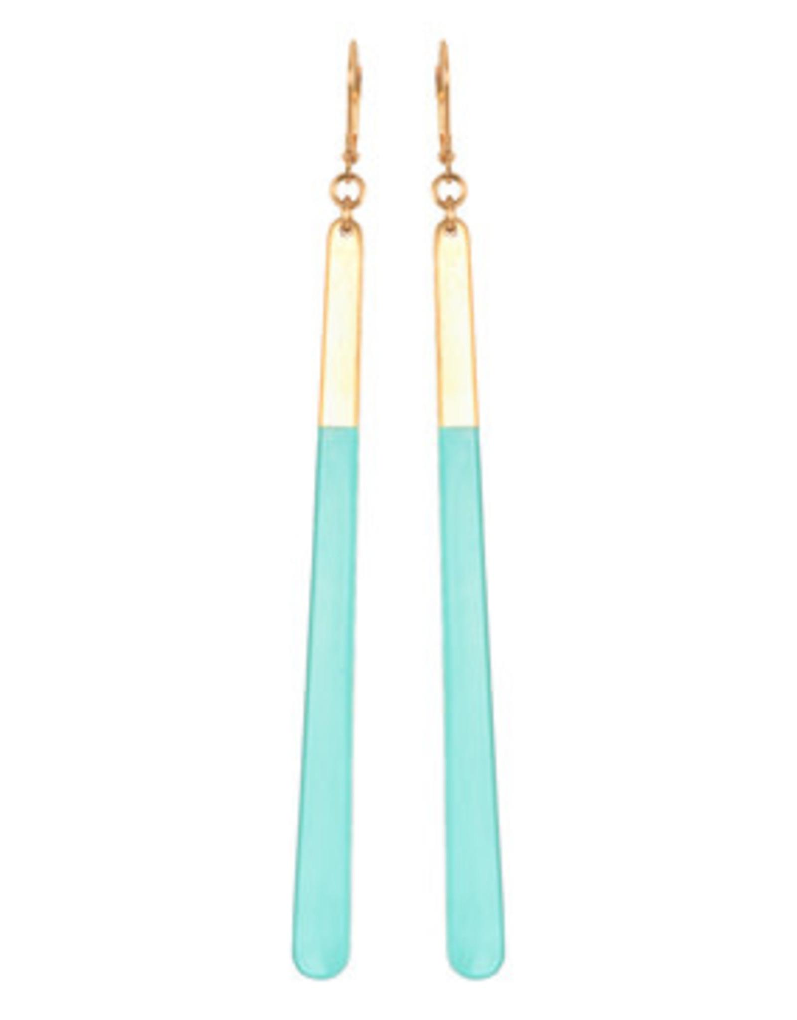 We Dream in Colour Aqua Azzura Earrings