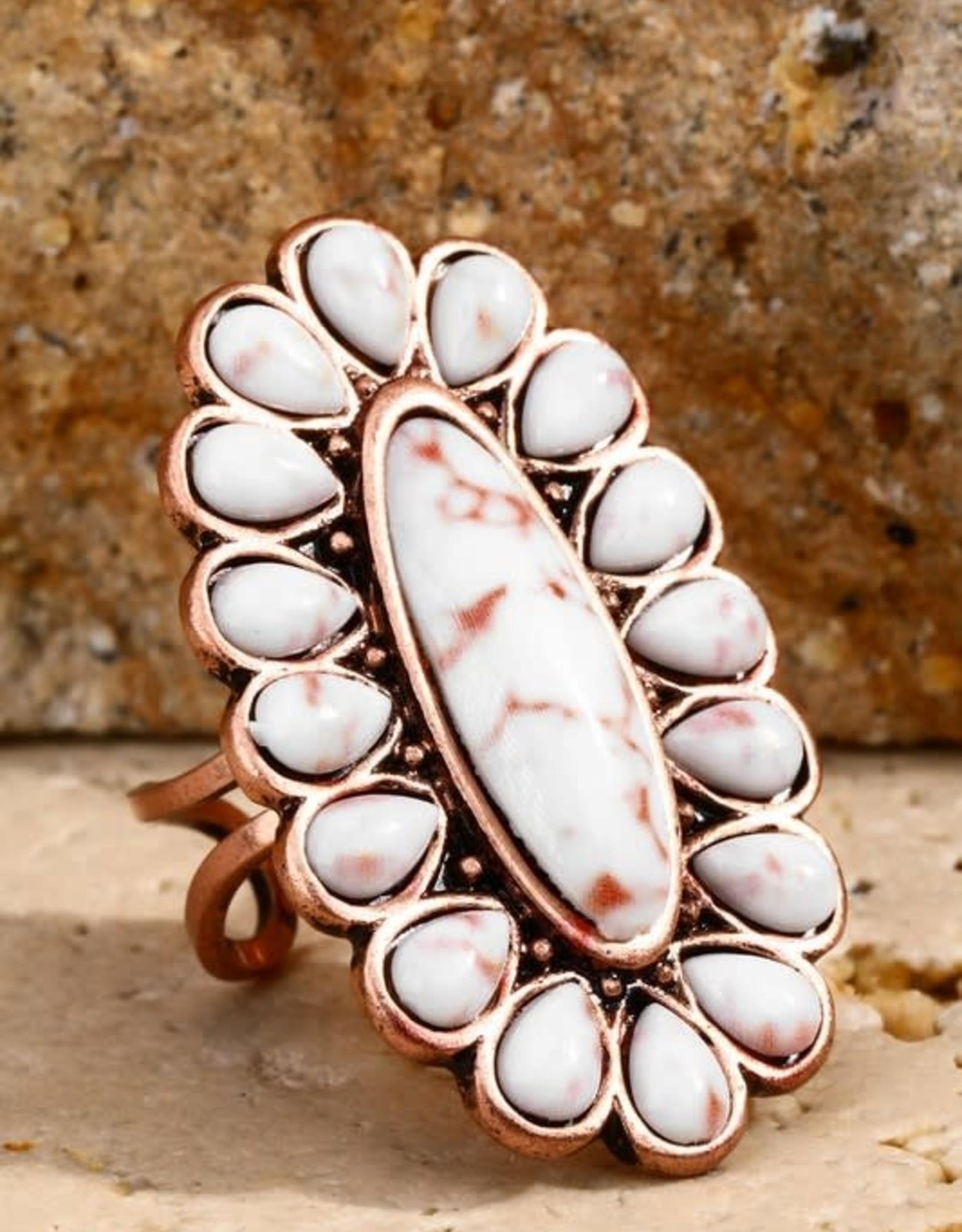 Urbanista Natural Stone Ring