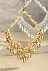 Urbanista Metal Beaded Chandelier Earrings