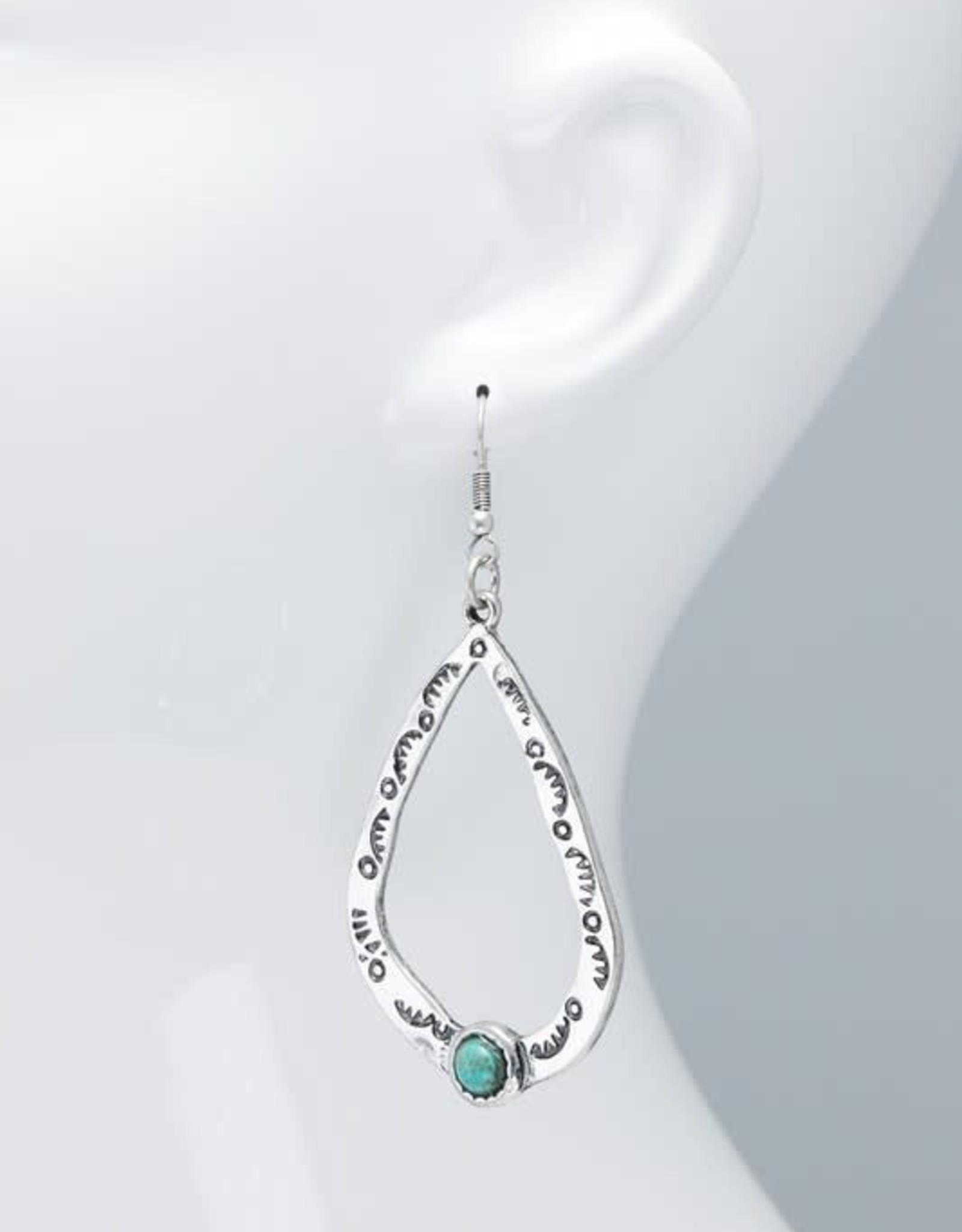 Urbanista Stone Teardrop Earrings