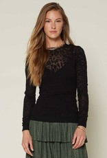 Current Air Burn Out Knit Top