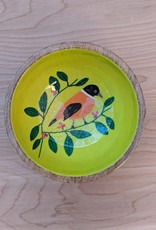 One Hundred 80 Degrees Mango Wood Bird Bowl