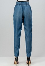 Slouchy Chambray Jeans