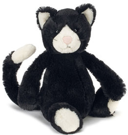 JellyCat Bashful Black & White Cat Medium