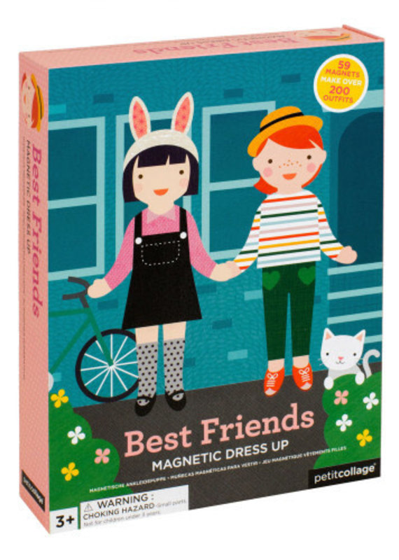 Petite Collage Magnetic Dress Up Best Friends
