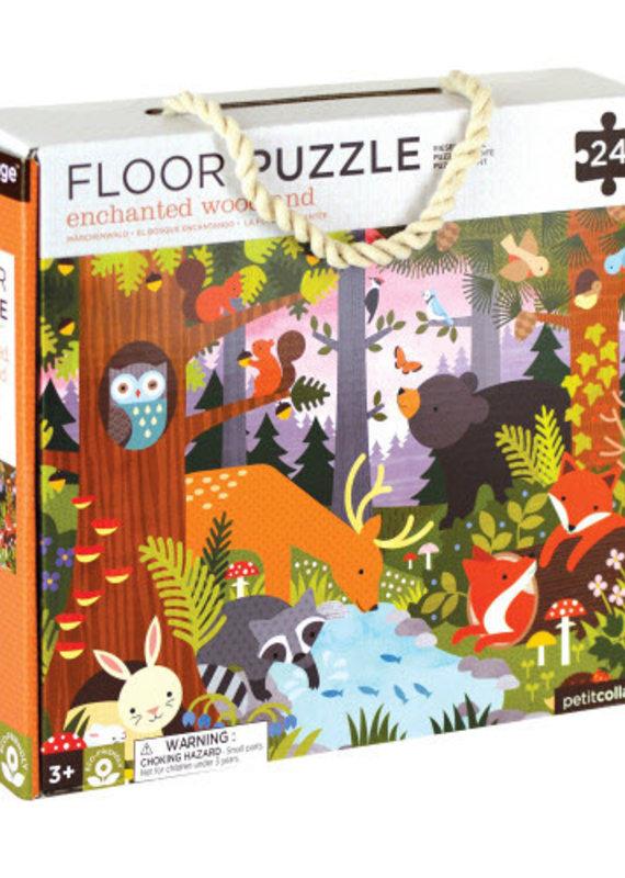 Petite Collage Floor Puzzle