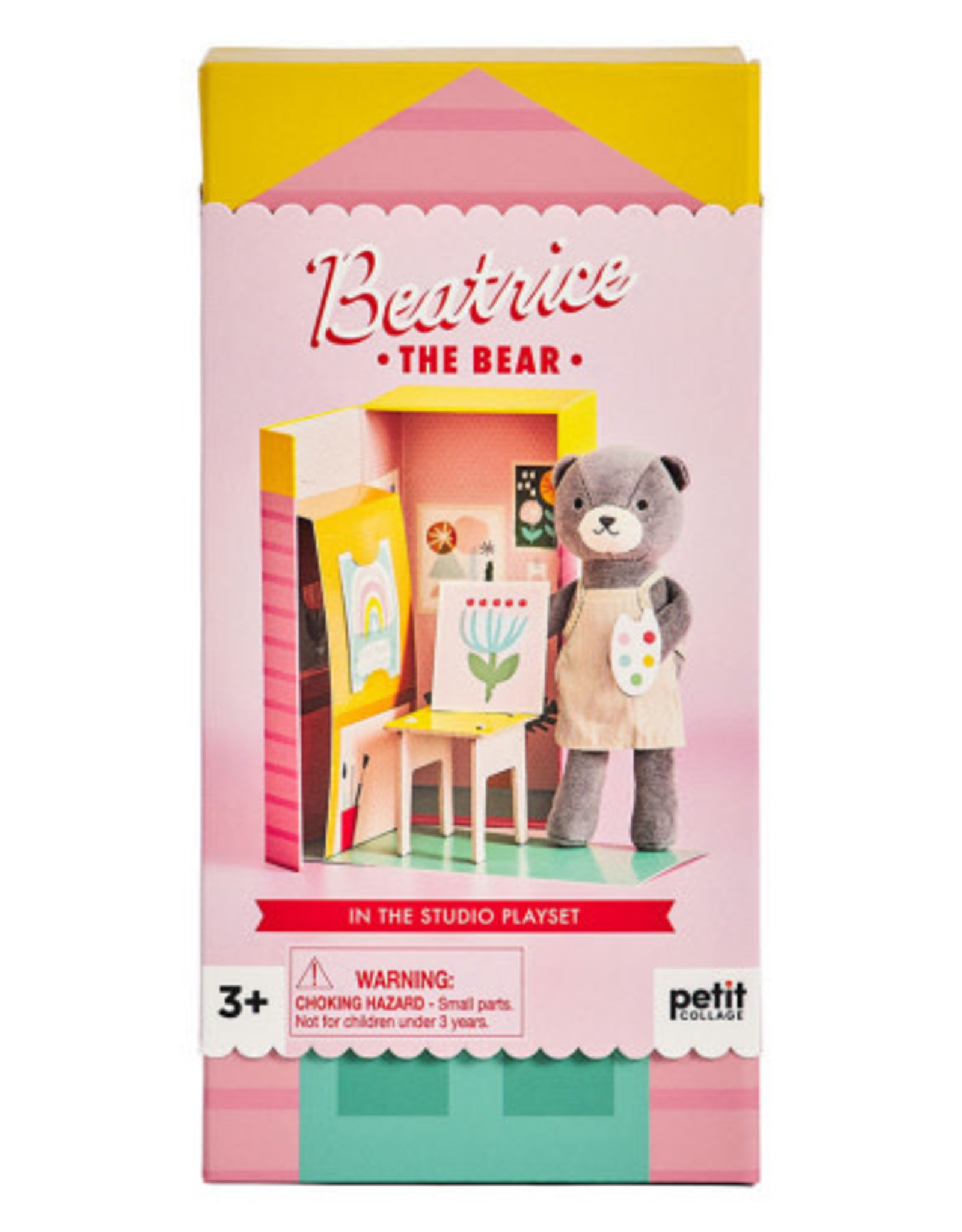 Petite Collage Beatrice The Bear Playset