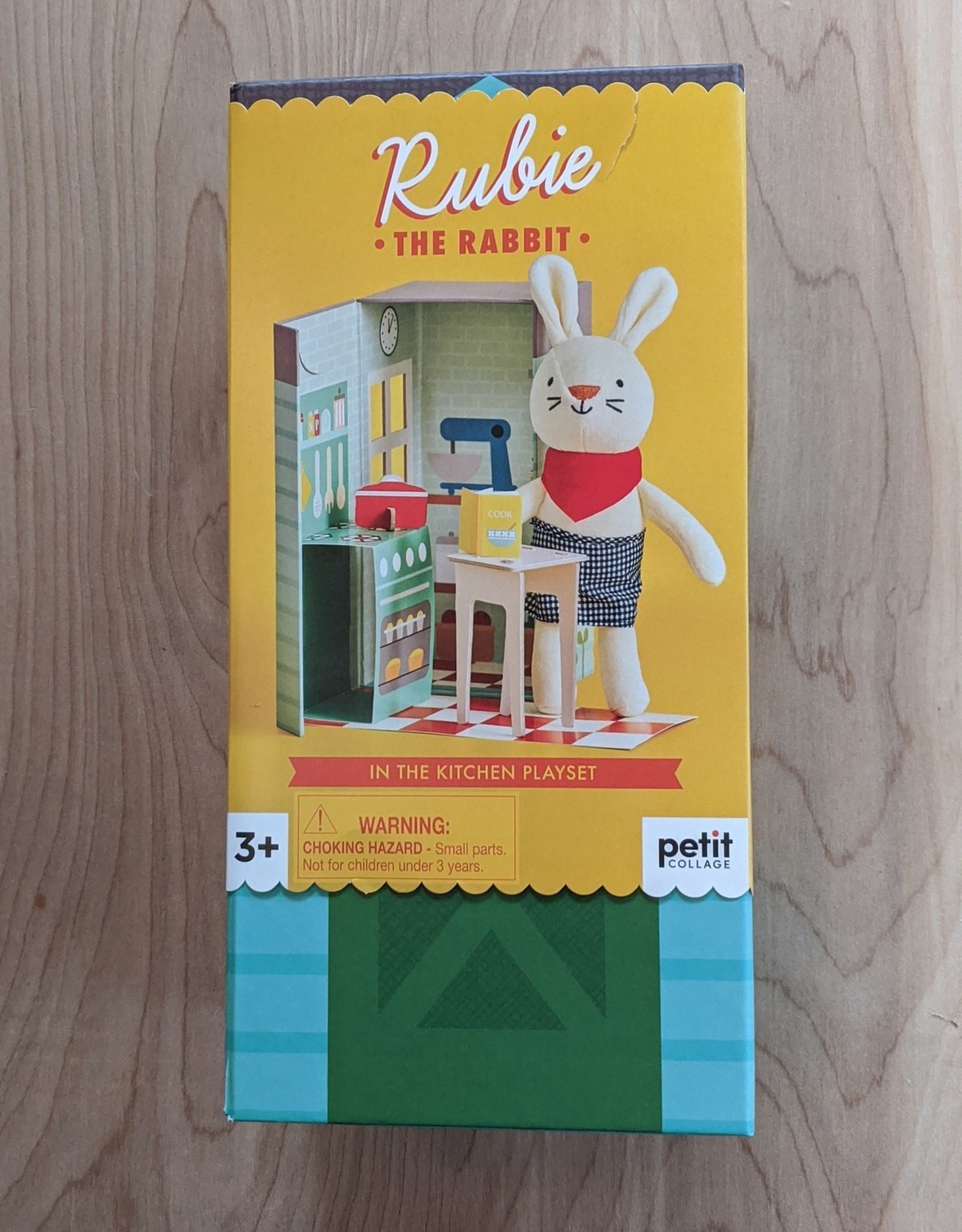 Petite Collage Rubie The Rabbit Playset