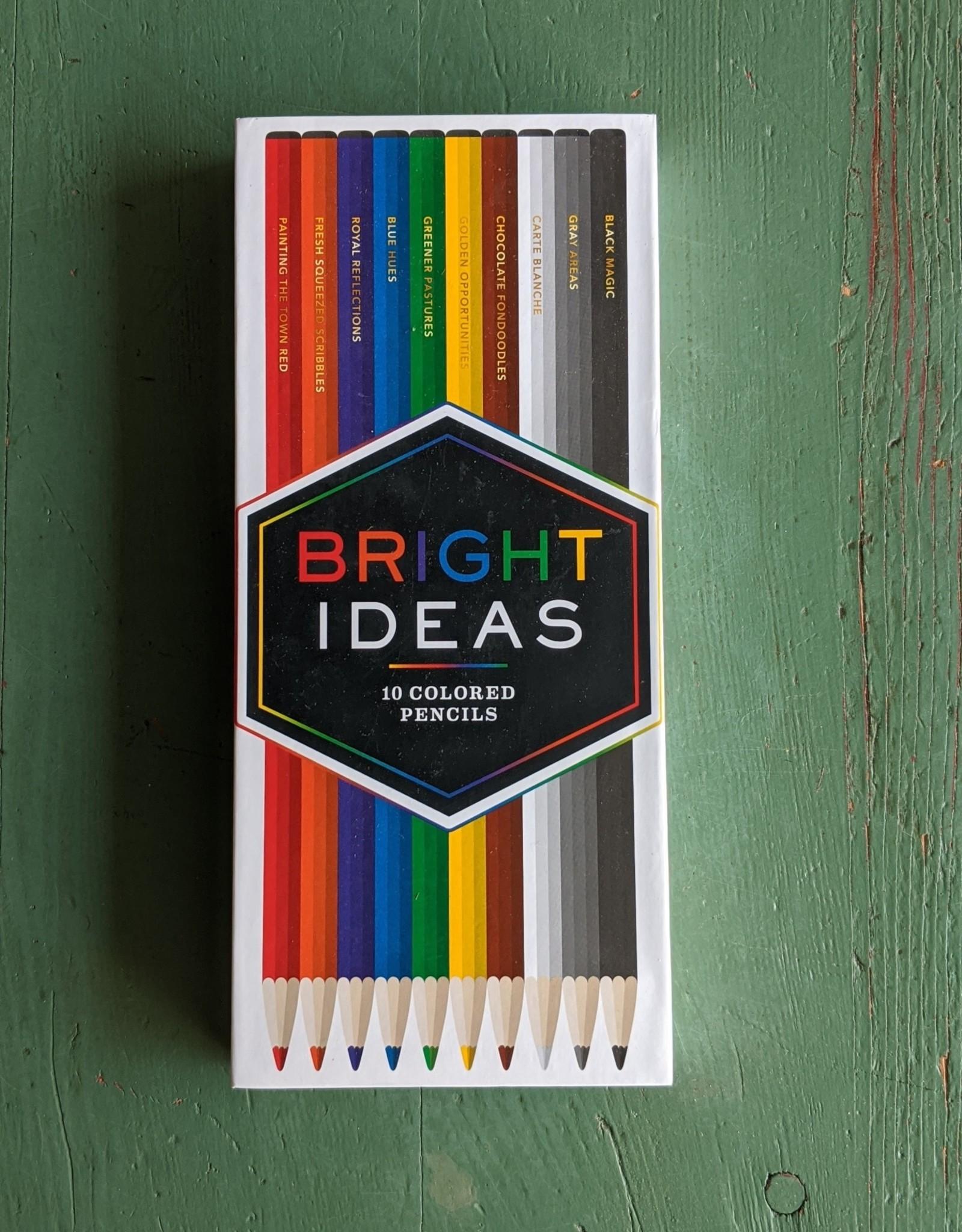 Chronicle Books Bright Ideas Colored Pencils