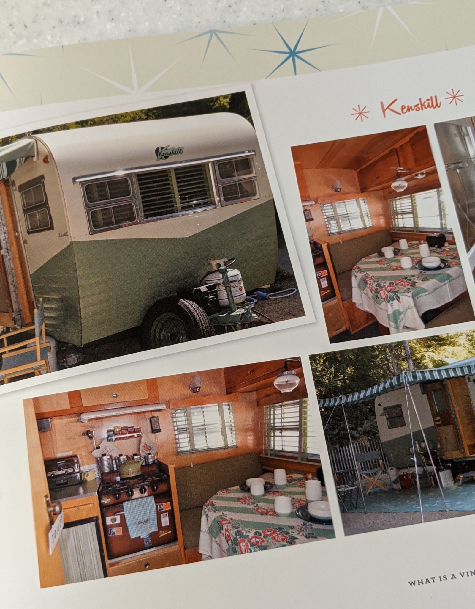 Gibbs Smith Vintage Camper Trailer Rallies