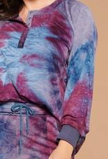 Tie Dye Henley & Jogger Set