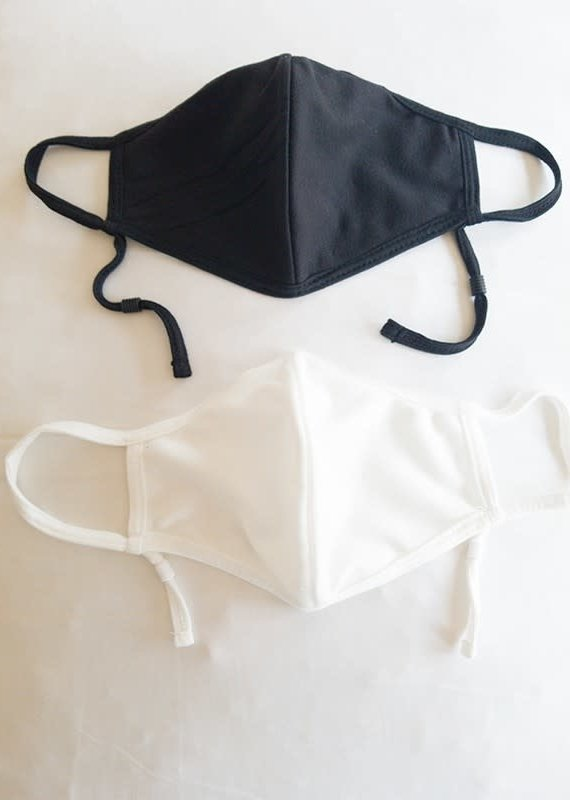 Cotton Jersey Face Mask w/Nose Wire & Filter Pocket