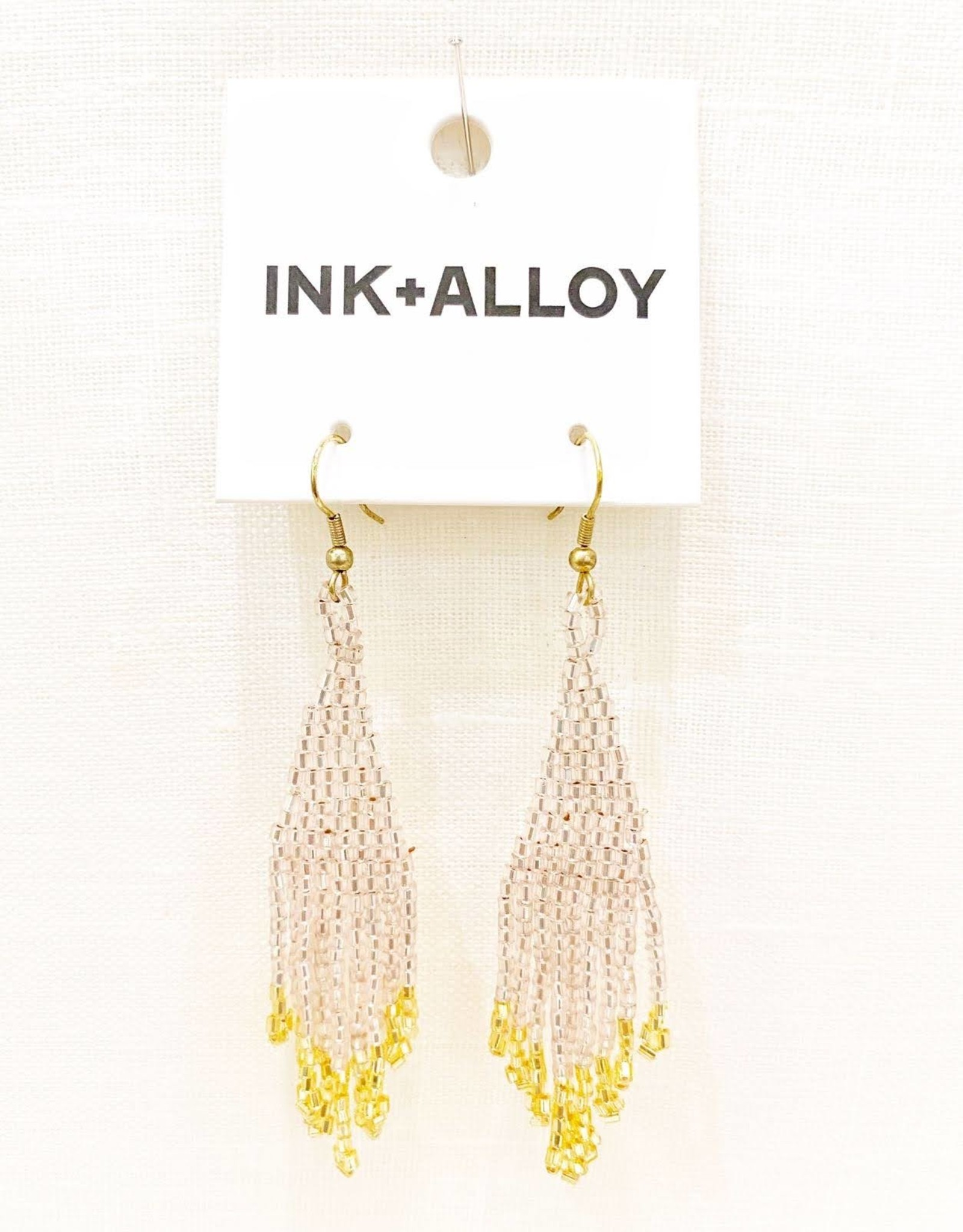 Ink+Alloy Gold Fringe Earring