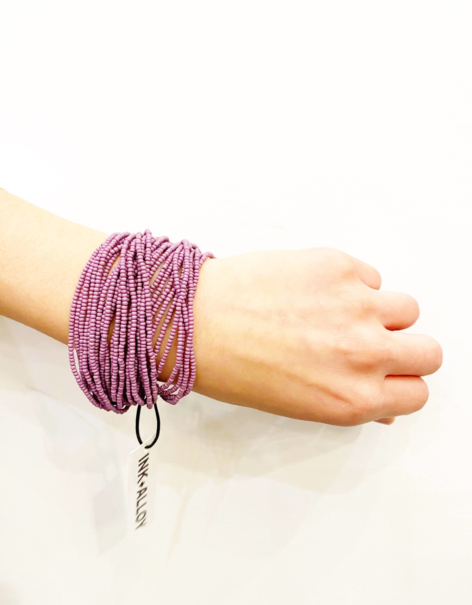 Ink+Alloy Multi Layer Seed Bead Bracelet