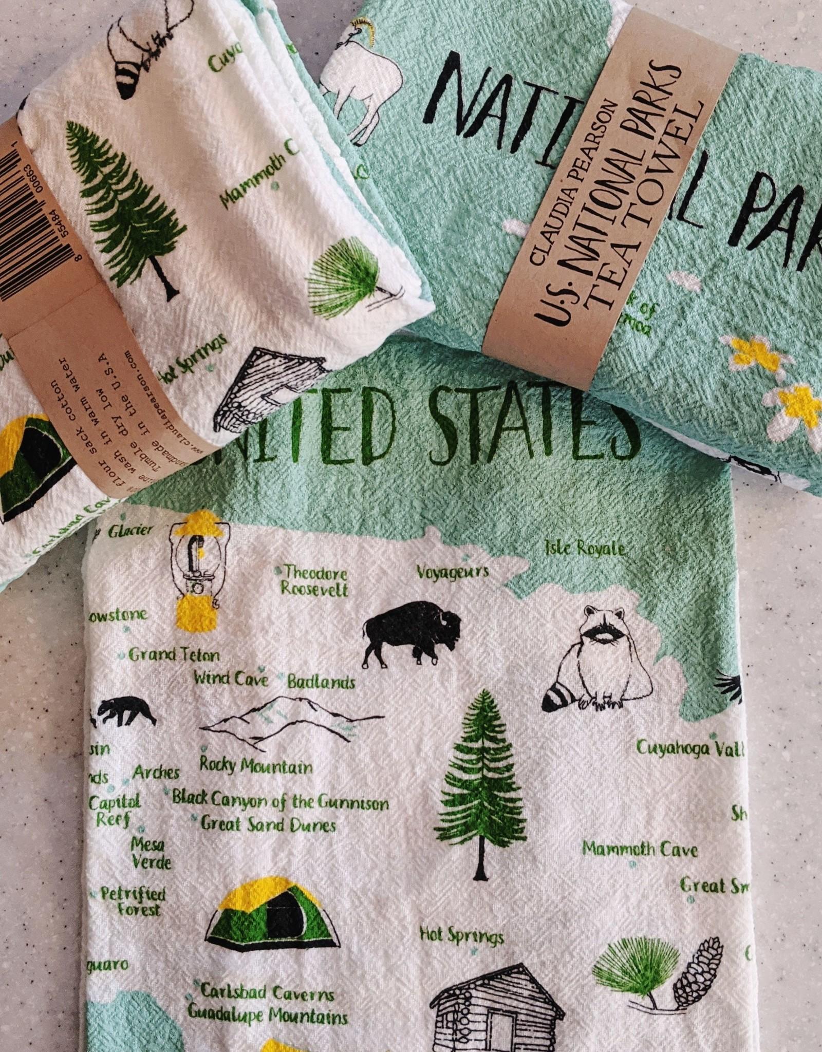 Claudia Pearson Claudia Tea Towel