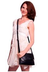 Vegan Leather Paige Crossbody