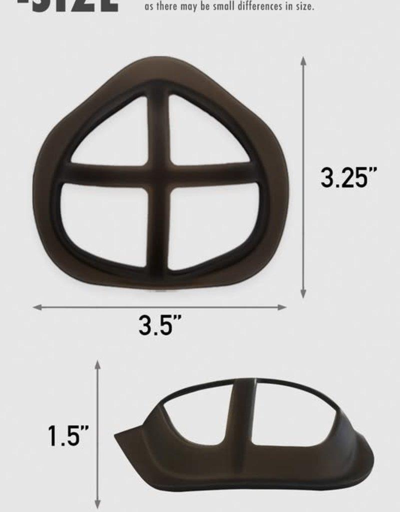 Silicone Mask Bracket 4 Piece Set