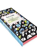 Chronicle Books Splash of Color Watercolor Pencils