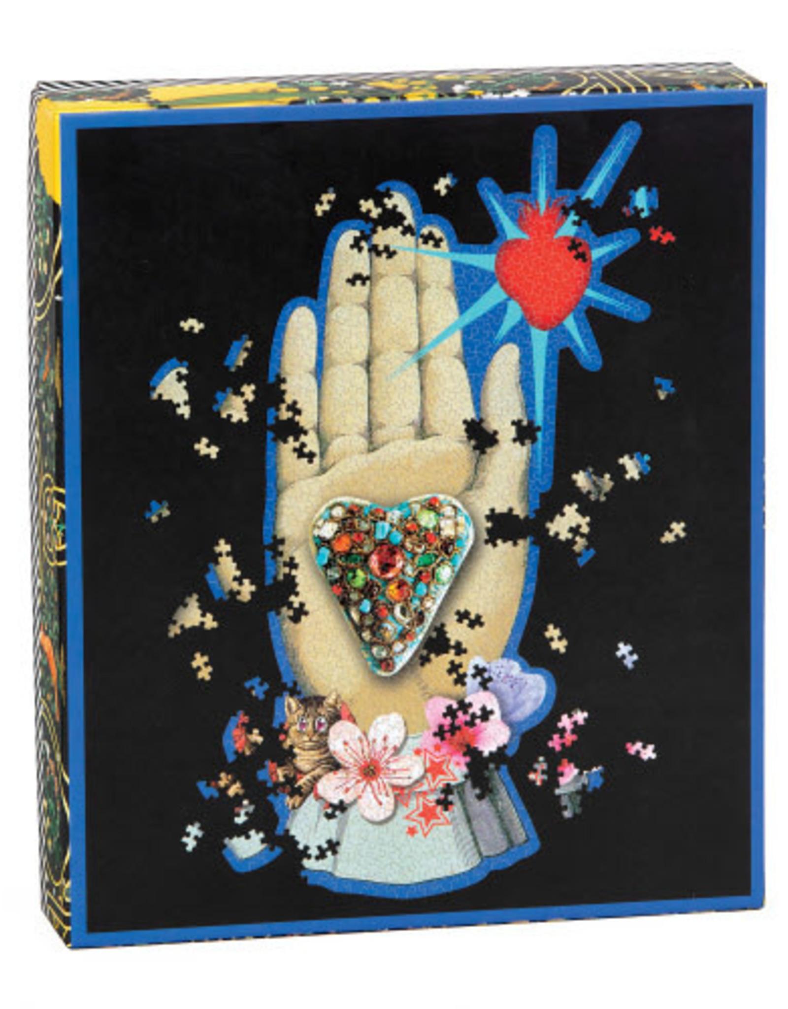 Chronicle Books Le Croix Puzzle Hand