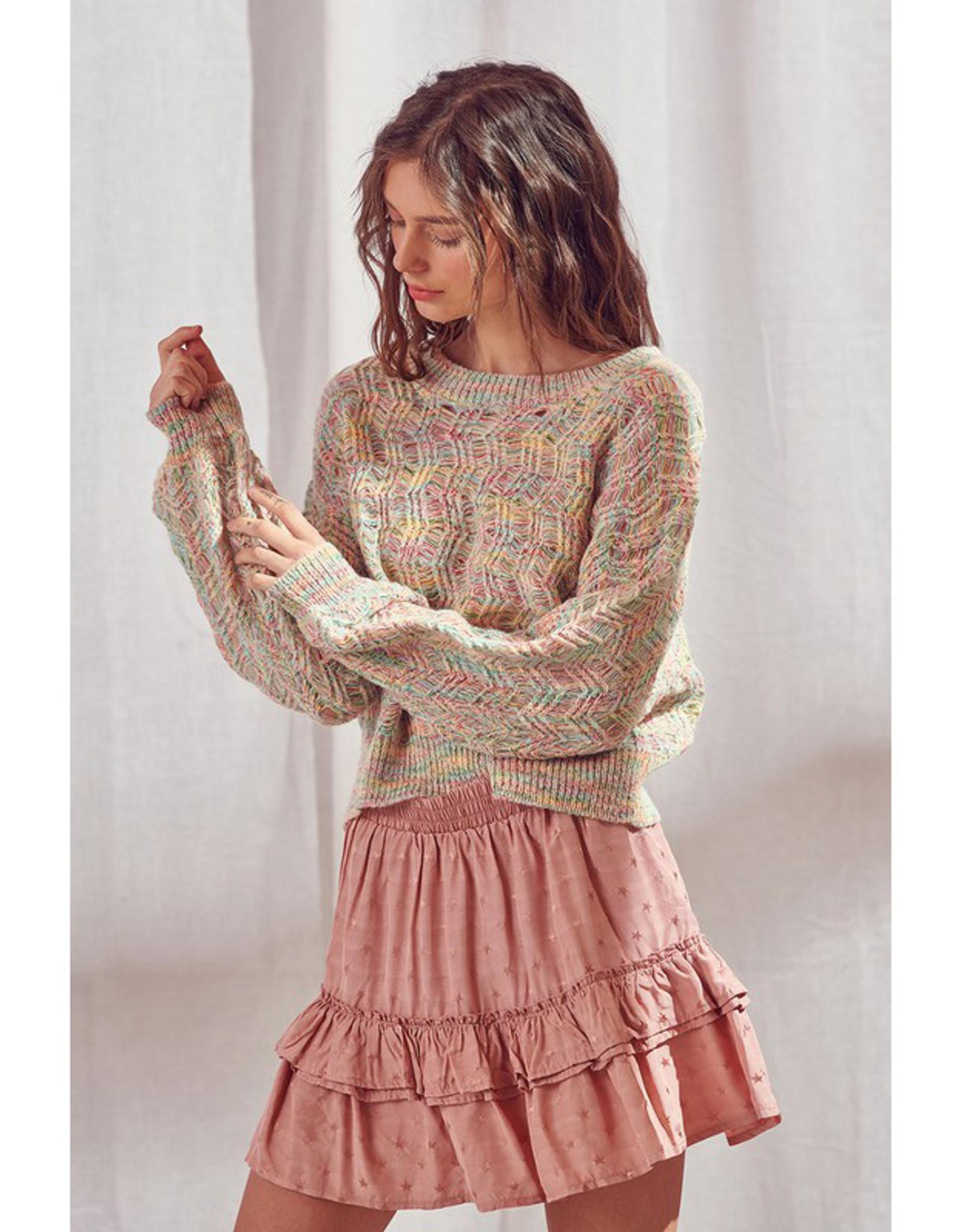 Pastel Rainbow Sweater