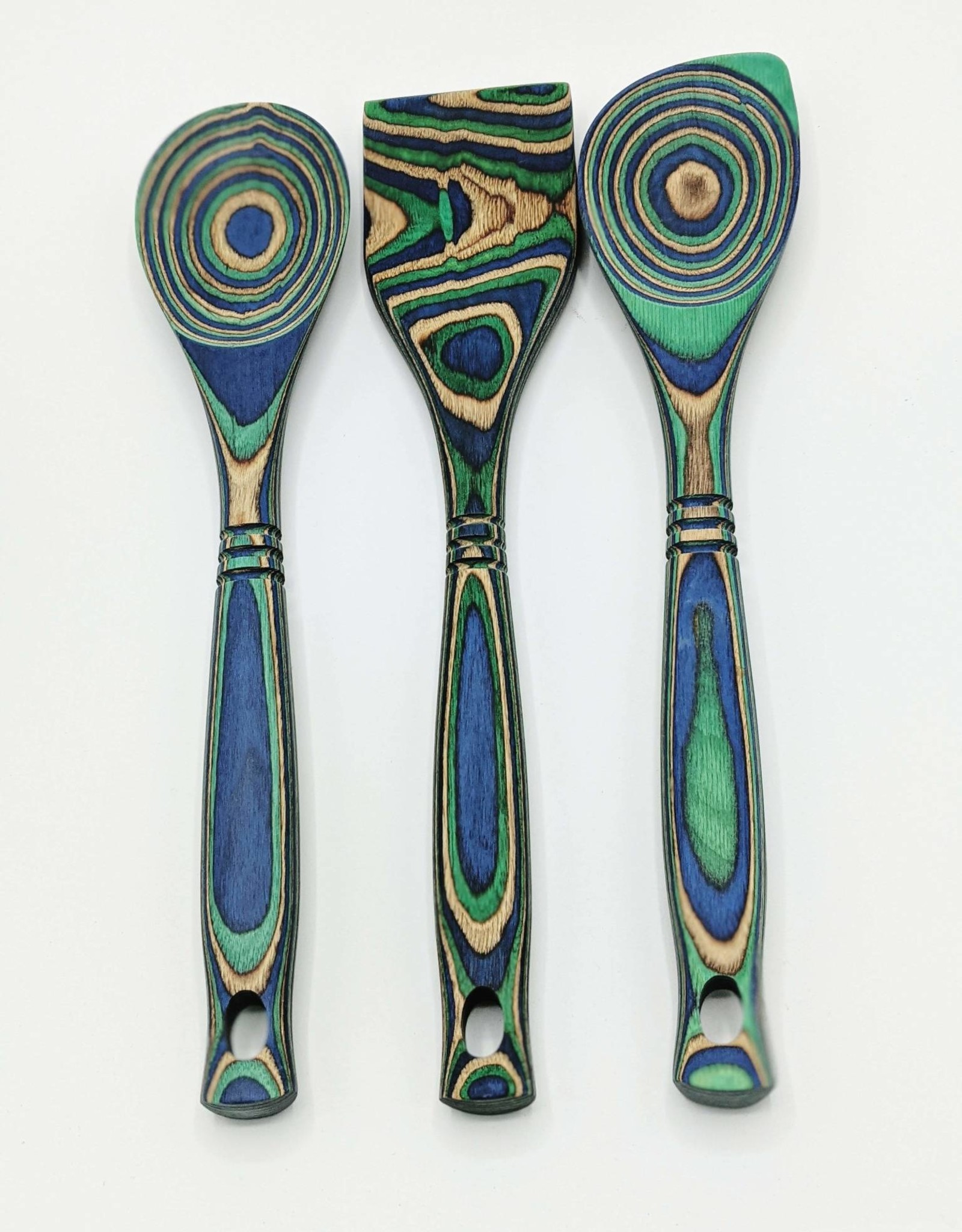 Bamboo Corner Spoon Peacock