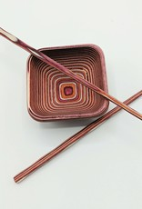 Bamboo Square Pinch Bowl