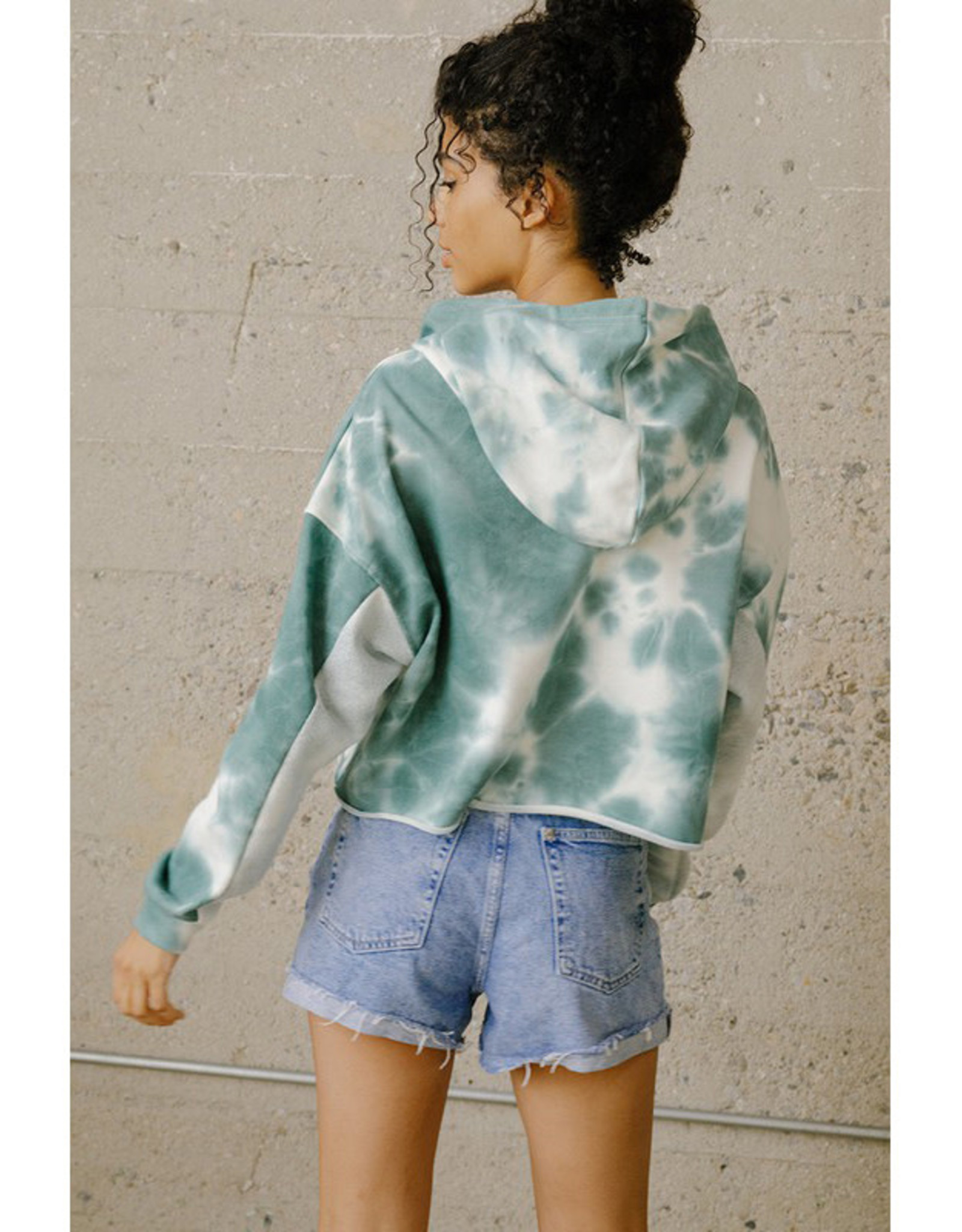pretty garbage Tie Dye French Terry Hoodie