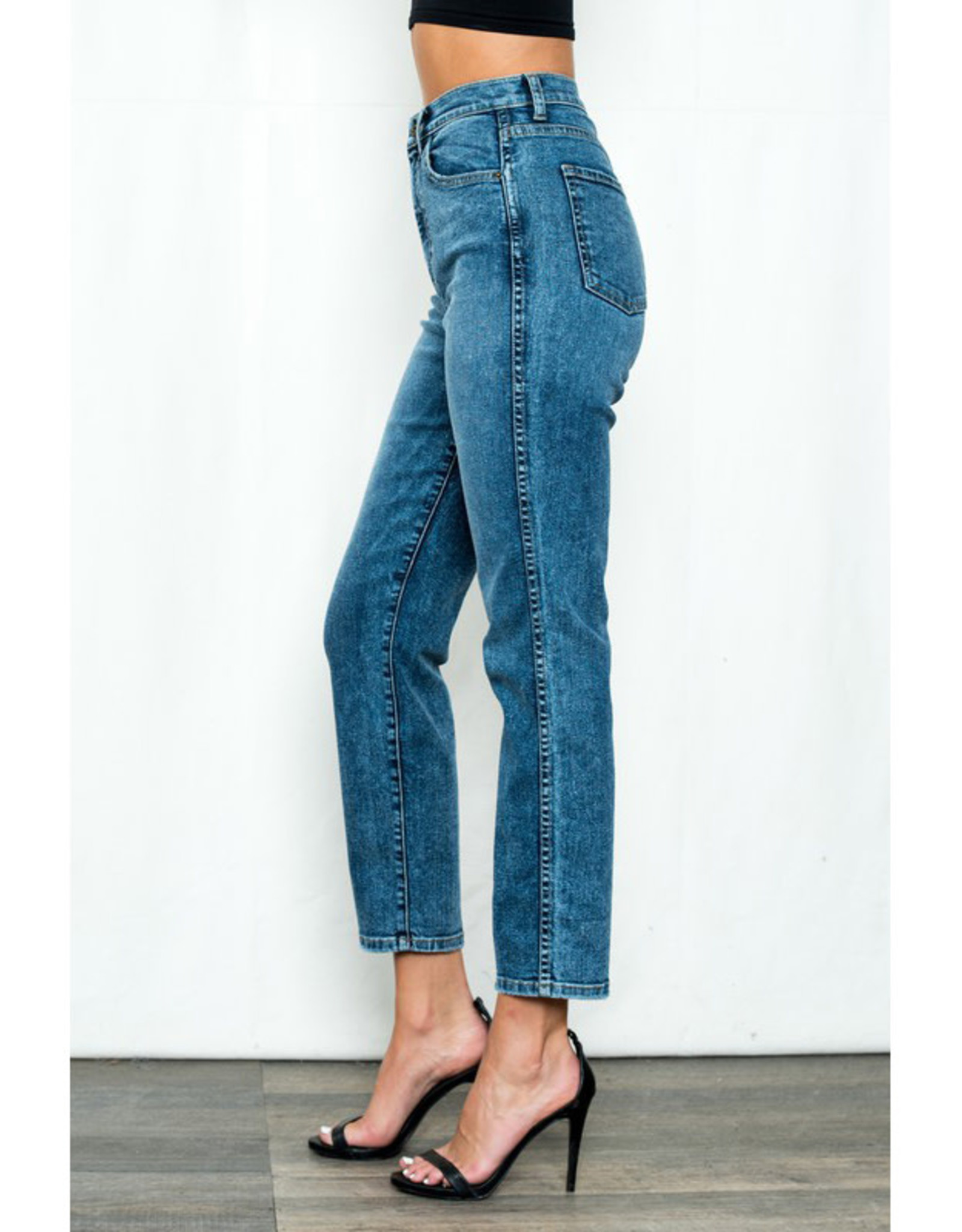 90's High Rise Skinny Jeans