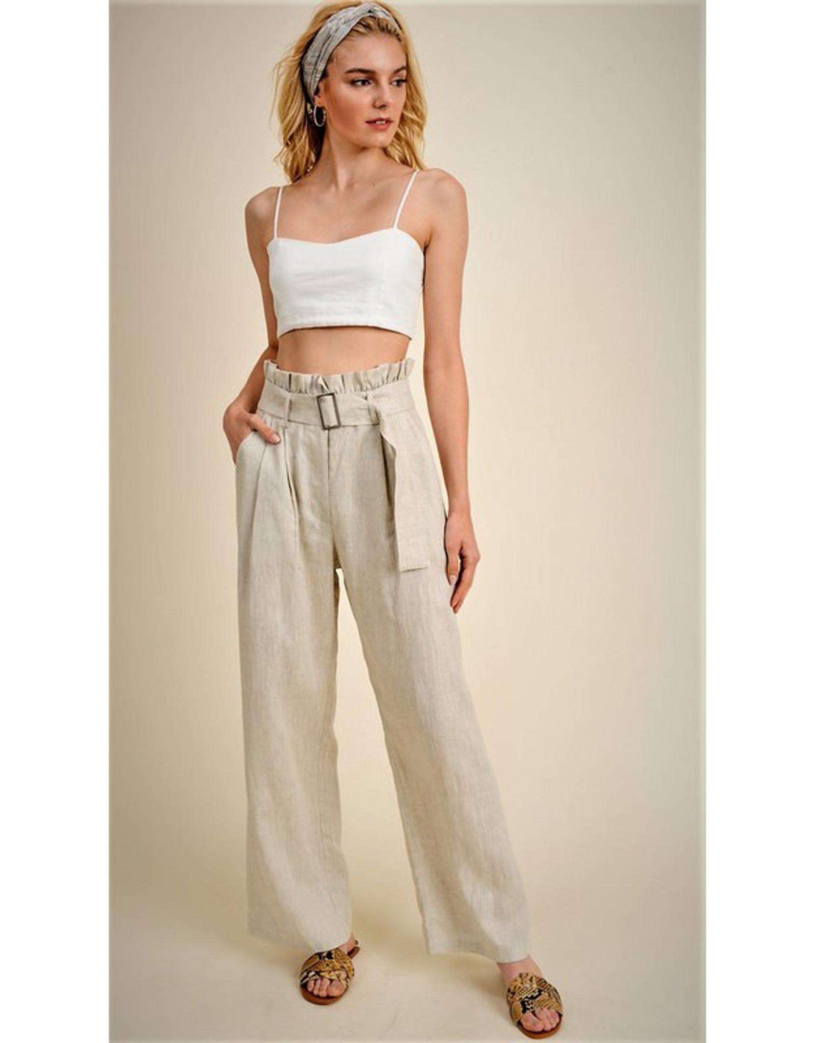 Jane + One Pleated Waist Pants
