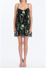 Olivaceous Herb & Floral Tank Dress
