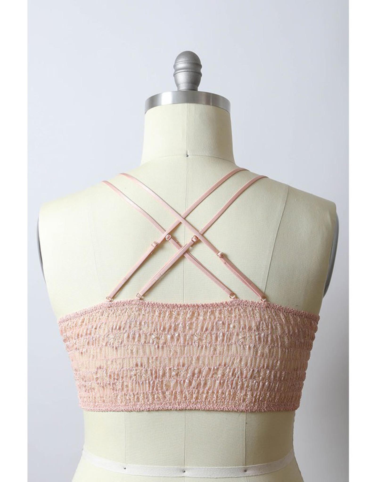 Crochet Daisy Bralette Plus