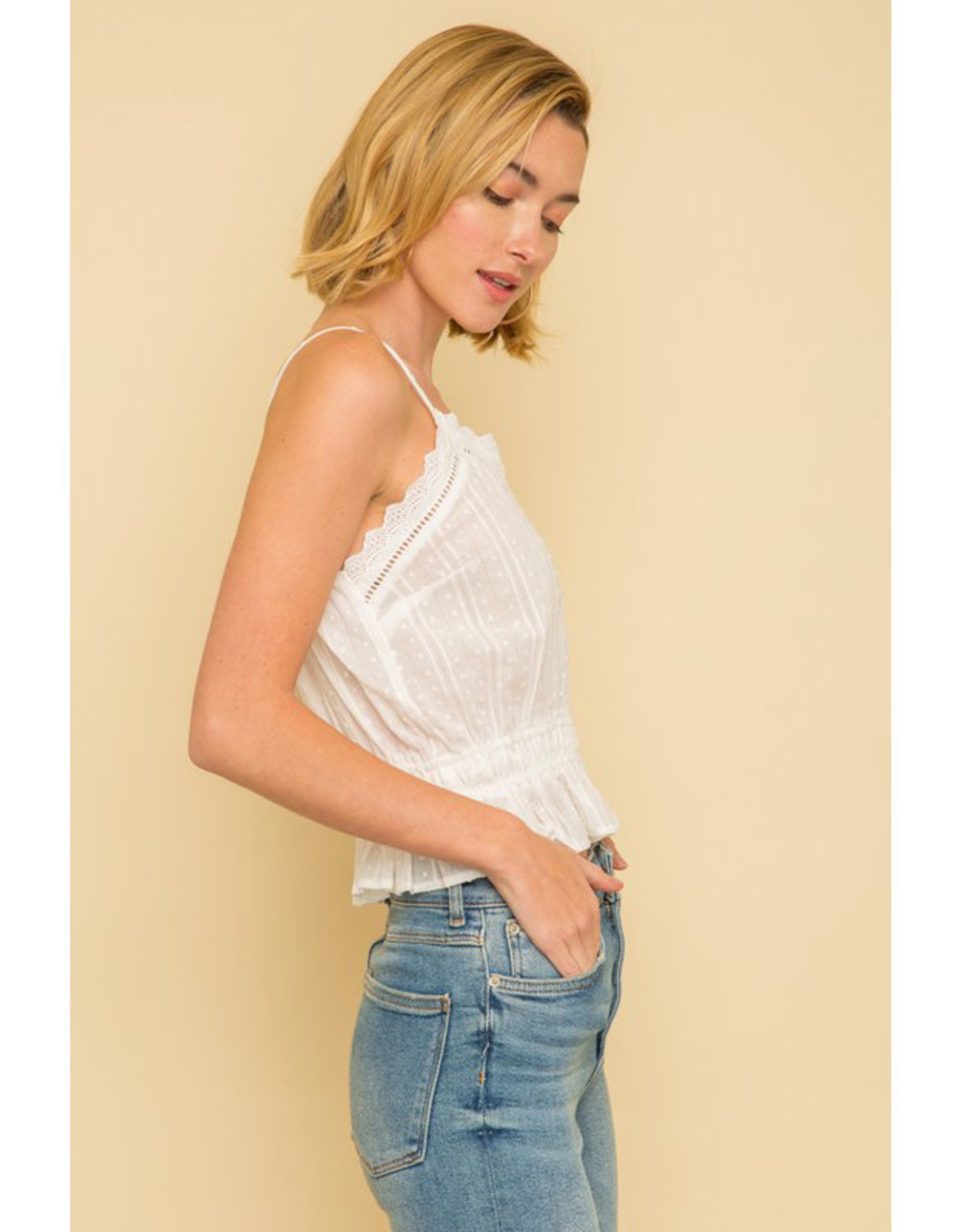 White Cotton Cami