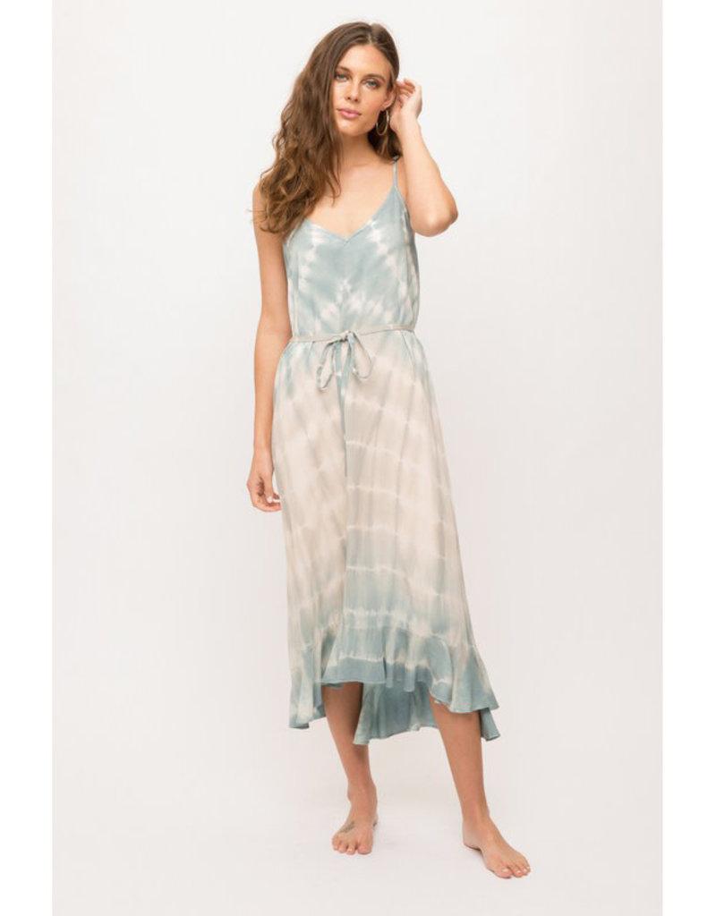 Tie Dye Maxi Slip Dress