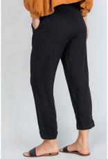 Button Up Straight Leg Pants