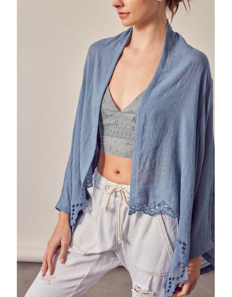 Cutwork Kimono